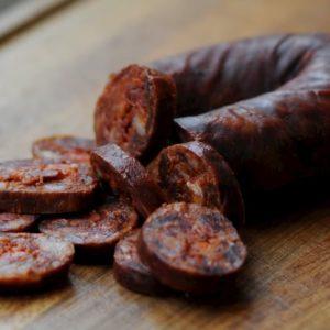 Chorizo dulce de León