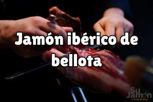 ¿Cuántas calorías tiene el jamón ibérico de bellota?